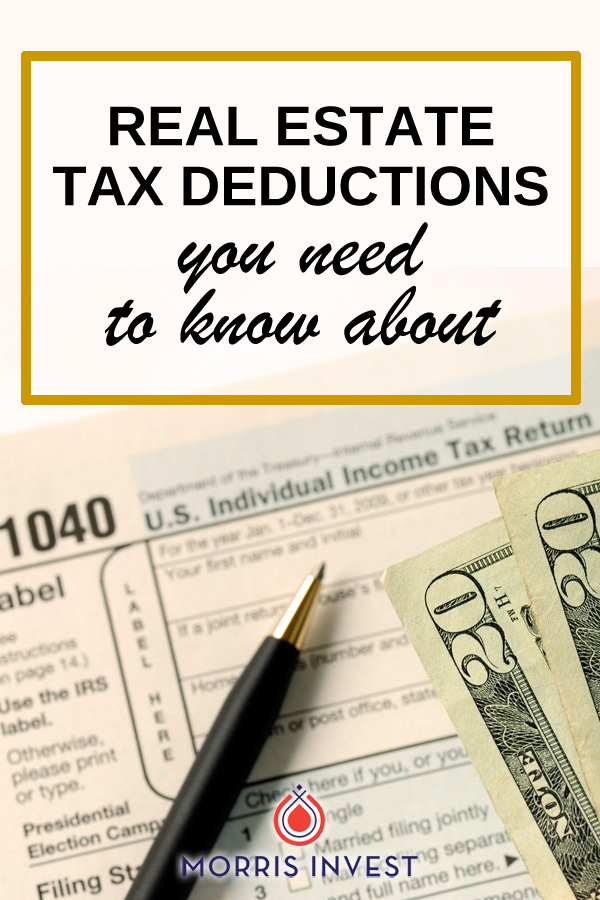 There are some powerful deductions that can alleviate your overall tax burden as a real estate investor and small business owner.