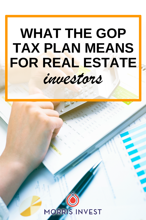 The most recent tax plan is the biggest tax overhaul in over 30 years. This plan aims to enact tax cuts for both corporations and investors. It's important to overview what this plan means for you, and how to best prepare for tax season as a real estate investor.