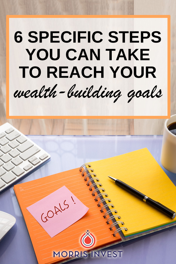 If you want to build a passive income and create financial freedom, there's a specific way to go about reaching that goal. Here are six specific steps you can take to get there.