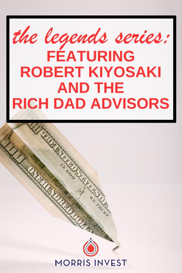 The legends series: Interviews with Rich Dad author Robert Kiyosaki, Rich Dad Advisor Ken McElroy, Garrett Sutton, Blair Singer, Tom Wheelwright, and Darren Weeks.