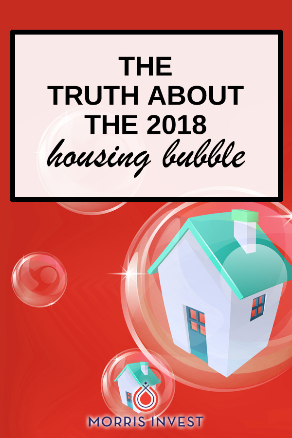 On this episode of Investing in Real Estate, I'm sharing the truth about the 2018 housing bubble. I'll elaborate on the key indicators that point to a housing bubble, and how you can protect yourself.