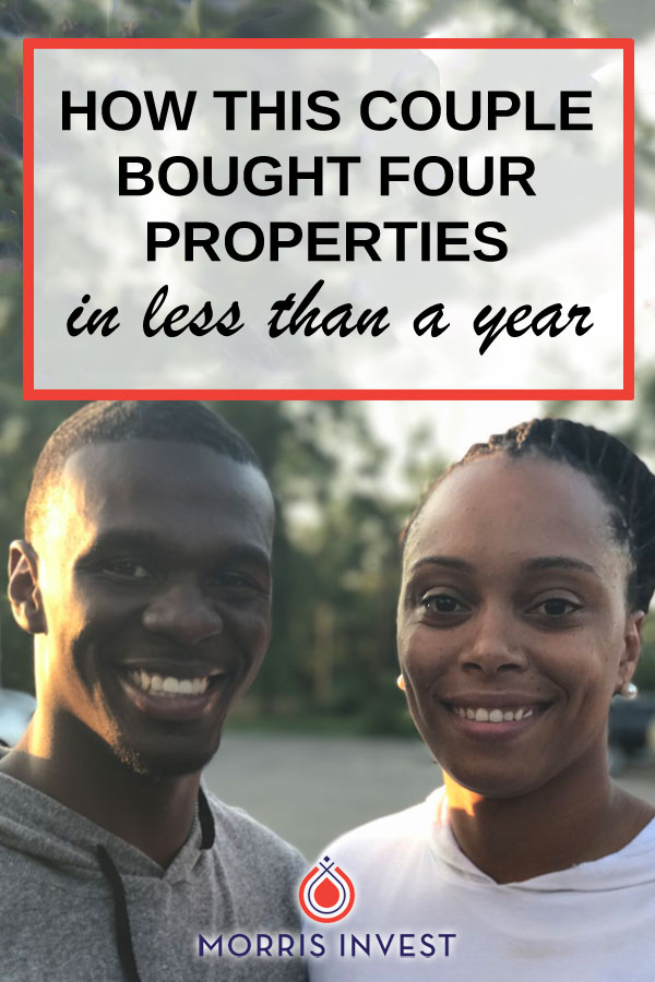This couple started purchasing real estate in the summer of 2017. This year, they're set to have a minimum of 12 properties. Currently,this couple has four rental houses. Here's their story.