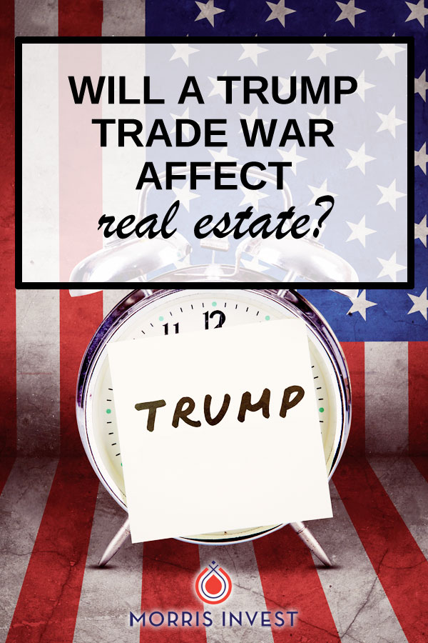 After President Trump recently announced plans to implement a new trade policy, many wondered how the economy would be affected. Equities and real estate investment trusts are starting to feel the pressure. Will a Trump trade war affect real estate?