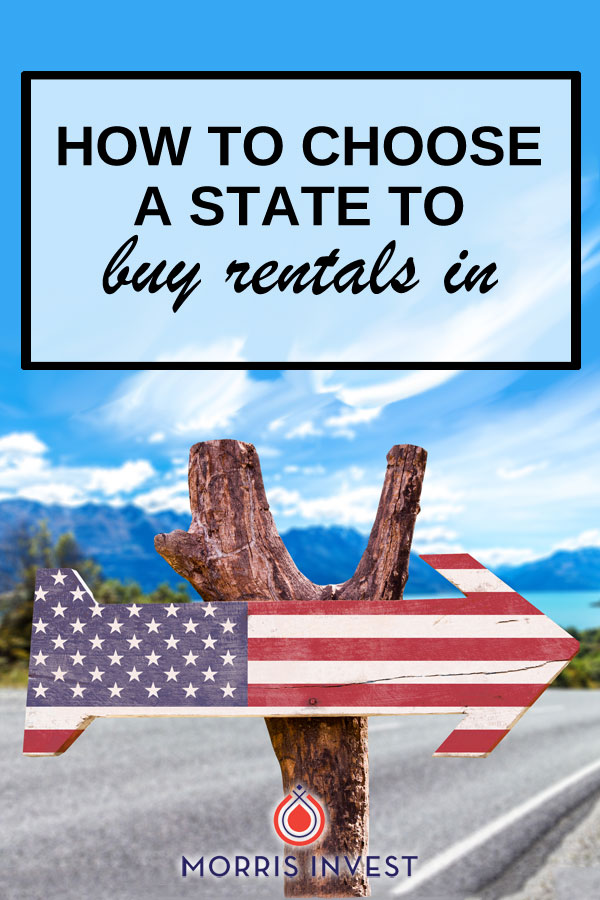 Not all states are equal when it comes to welcoming real estate investors. Each state has it's own legislation that applies to rentals. You'll want to take this into account before you purchase a rental property.