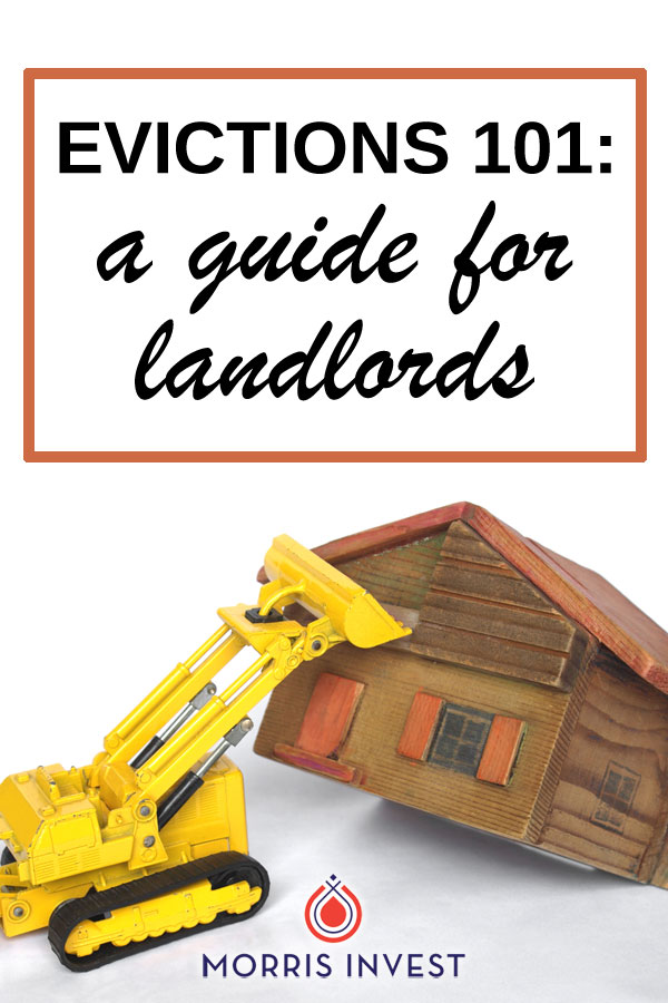 Eviction is an inevitable part of being a real estate investor. As you grow your portfolio, it's important to know what to expect if you need to evict a tenant from one of your rental properties.