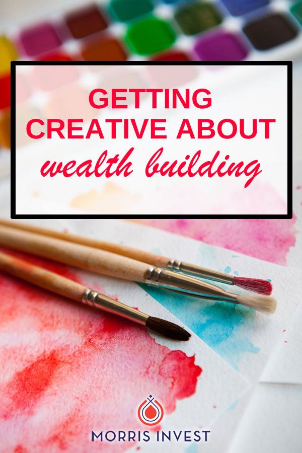 You might think that investing is only about the numbers, but in order to grow your portfolio, you'll need to put on your thinking hat and be creative about building wealth!