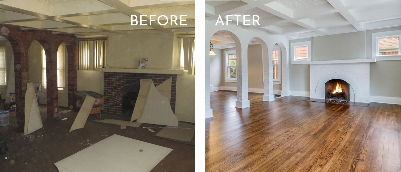 Beautifully renovated properties that your tenants love