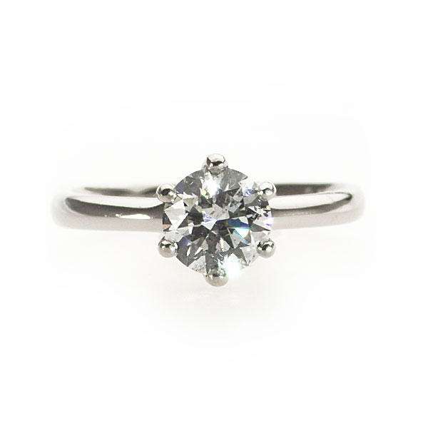 Odette Diamond Solitaire Ring