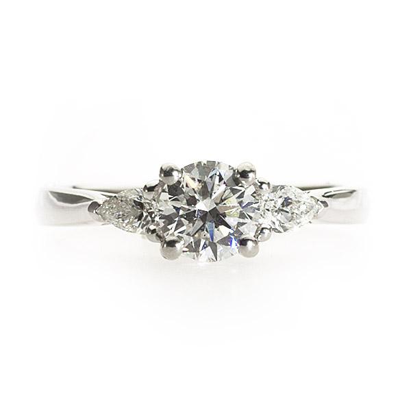 Tatiana 3 Stone Ring