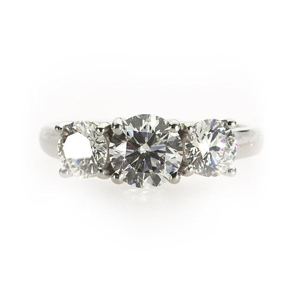 Gabriella 3 Stone Ring