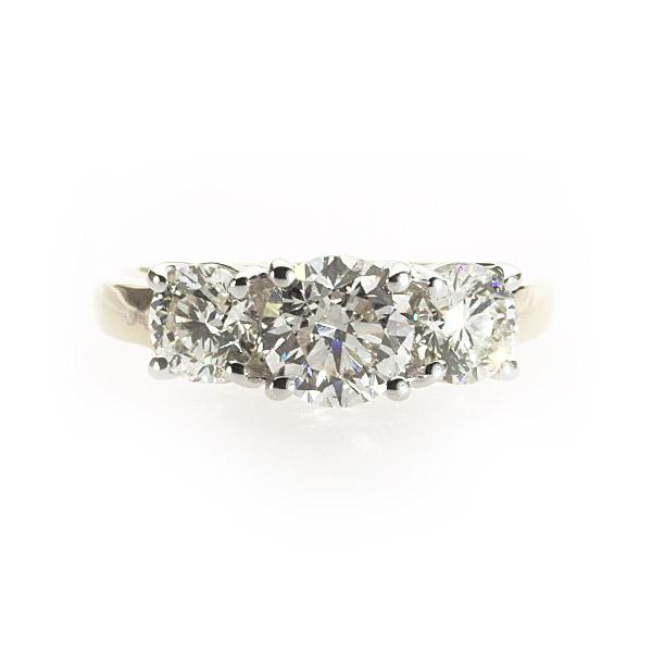 Grace 3 Stone Ring