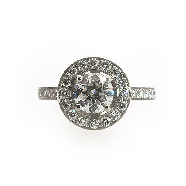 Juliette Vintage Solitaire Ring