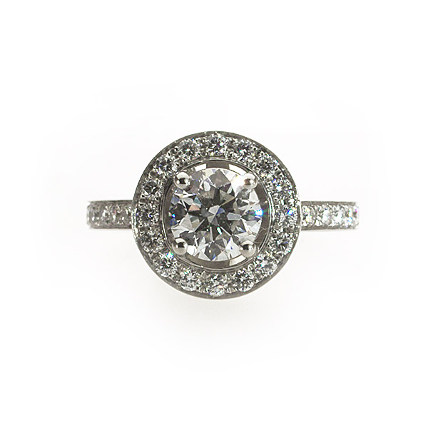 Juliette Vintage Solitaire Ring