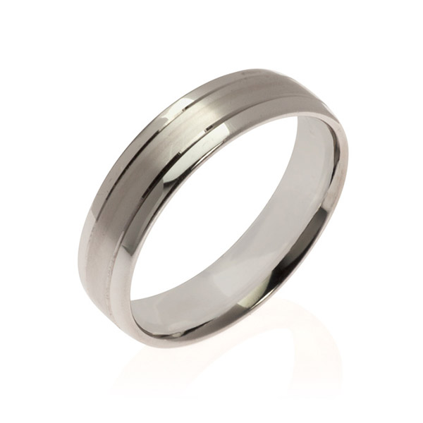 Mars Men's Wedding band Ring