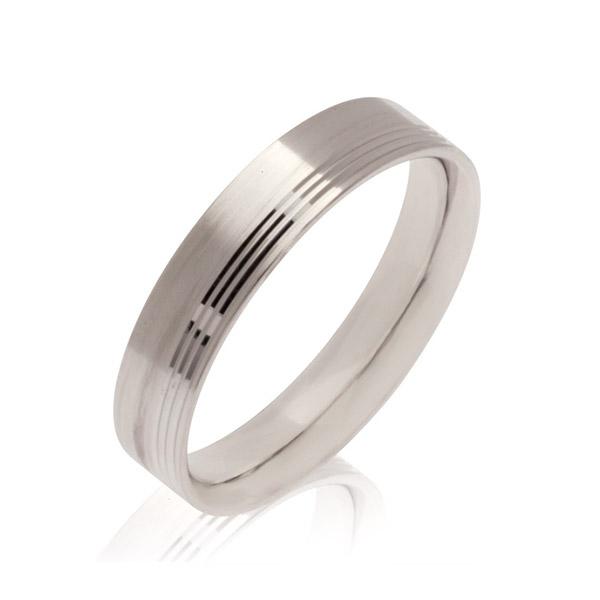 Saturn Men's Wedding band Ring