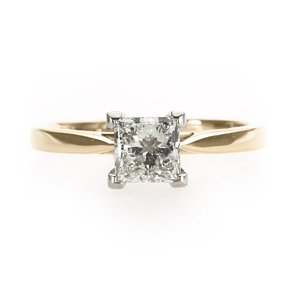 Penelope Yellow Gold Solitaire Ring