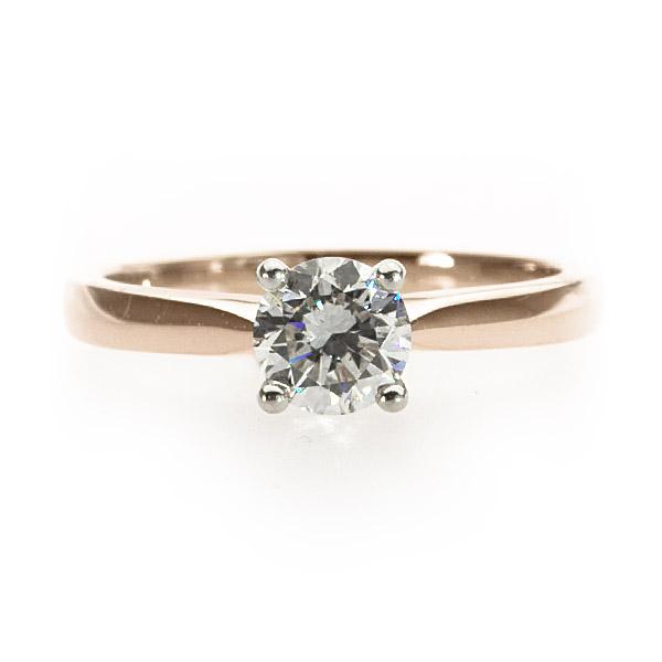 Primrose Solitaire Ring