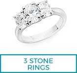 3 Stone rings