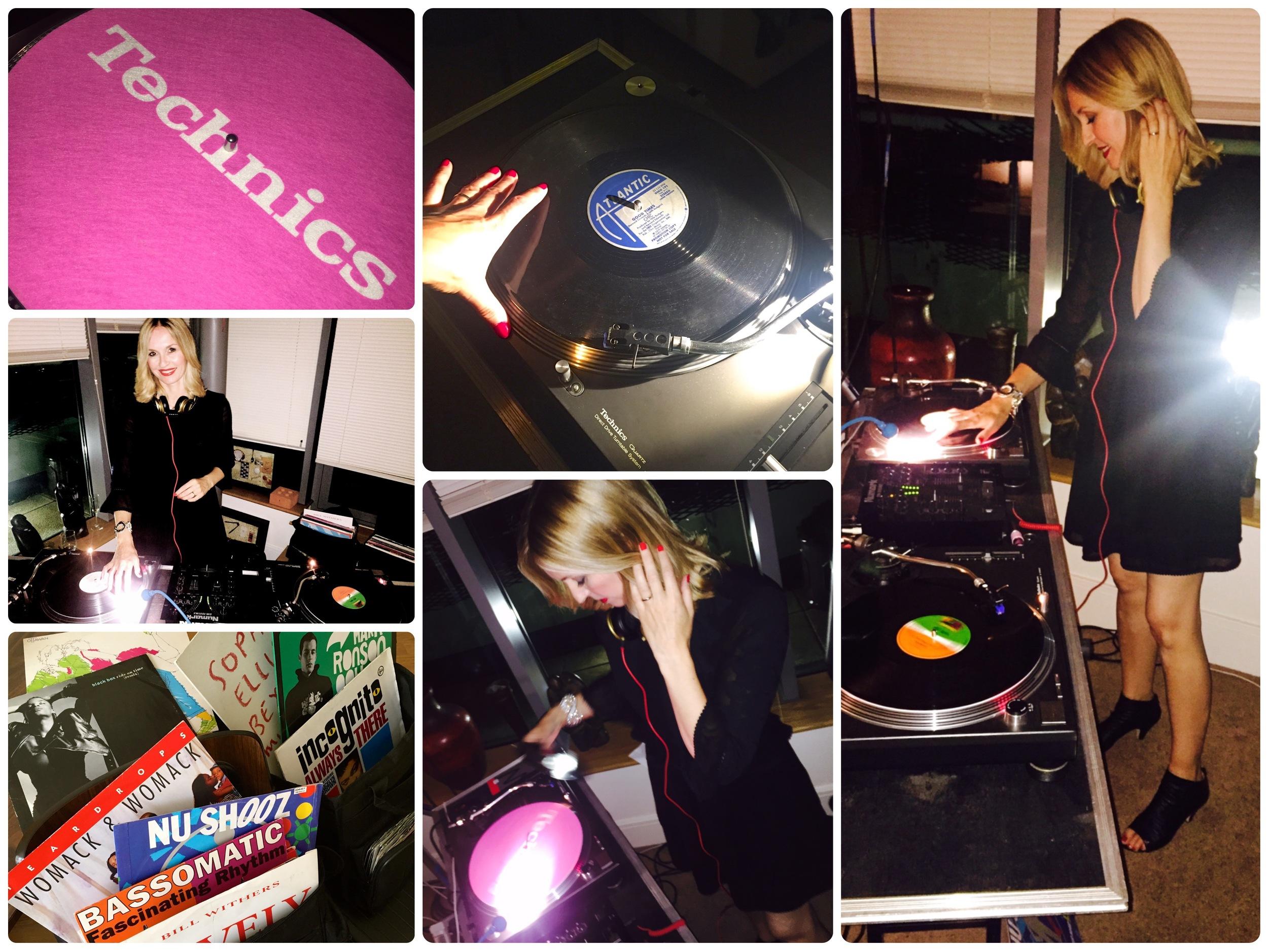 Female DJ Vinyl Jen, London DJ
