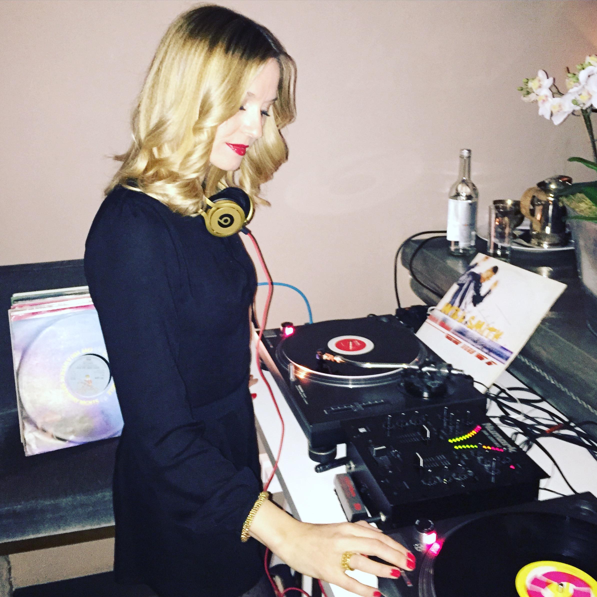 Vinyl Jen, London DJ, Female DJ