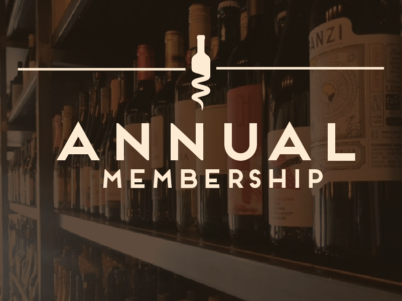 Annual Membership - $480/YearTwo bottles of wine per monthComplimentary seating for (2) at an exclusive wine tasting event every quarter.Exclusive promotions such as wine education newsletters, limited bottle offerings, and other special events and incentives.10% off all retail items in Cata Vino for the duration of your wine club membership.A unique wine accessory as a special birthday gift