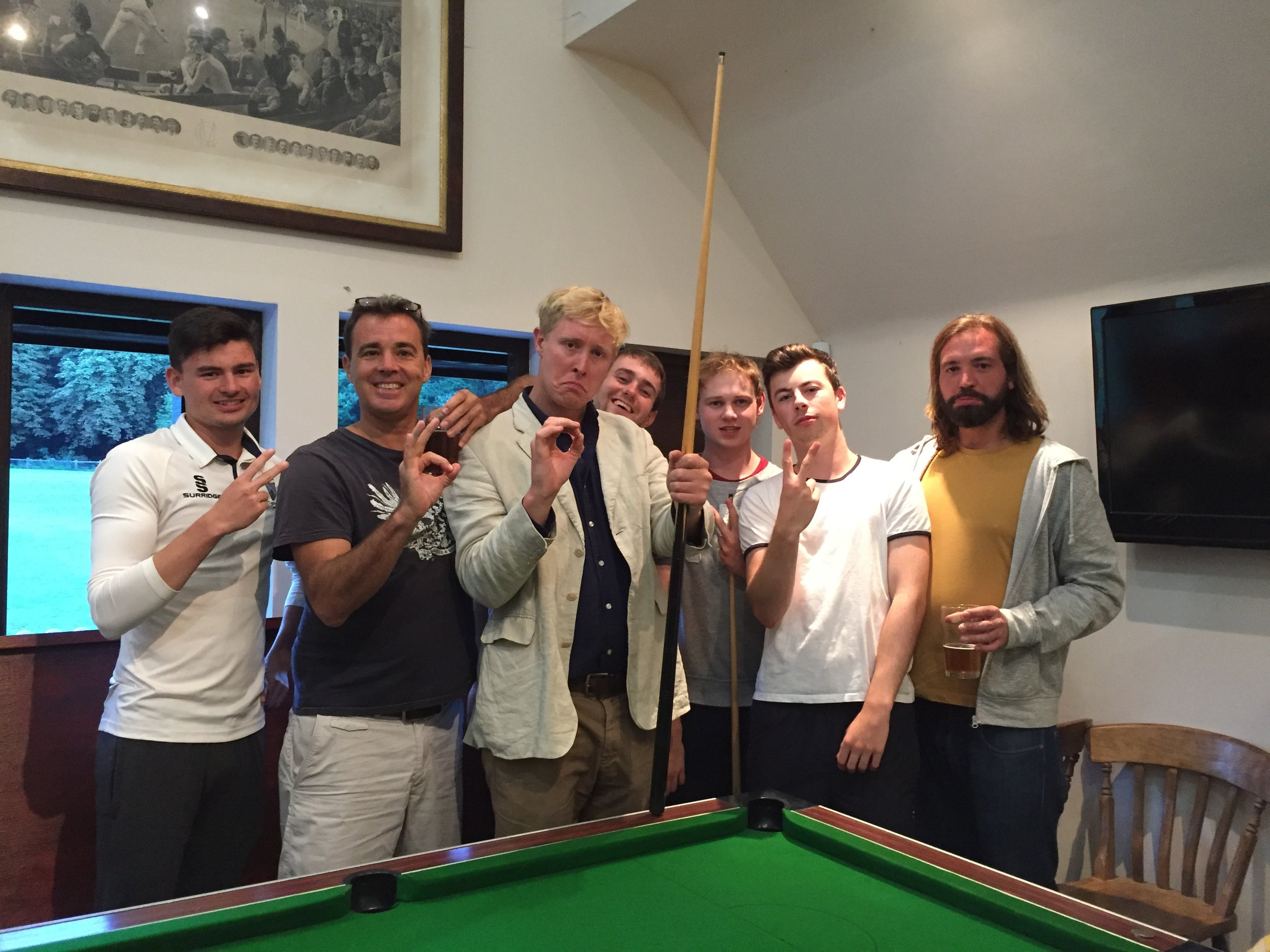 Outwood were upset about the loss and Captain Matt about being called a p&^&(k by Runky, but gained compensation in the pool ( the runky didn't help us there either)