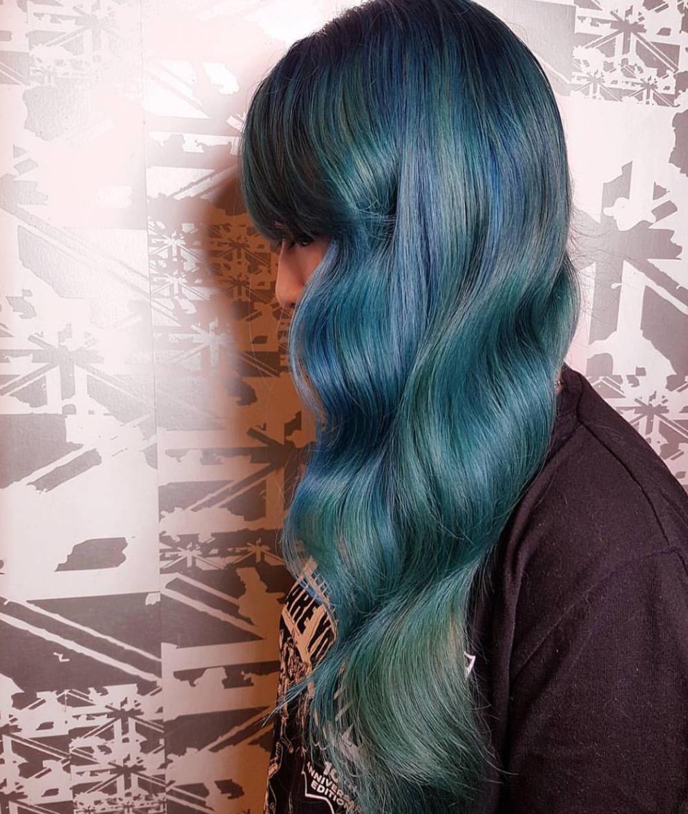 Mermaid hair at its finest