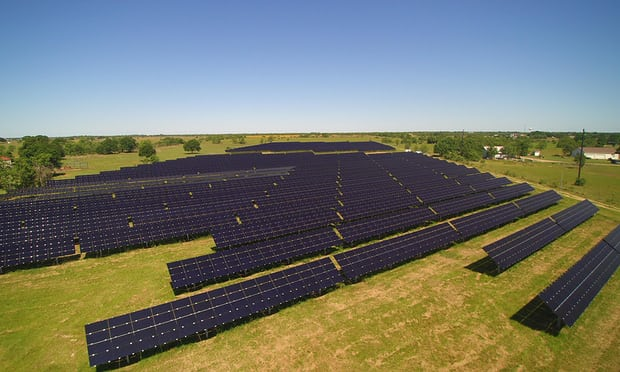 Local Sun, near Houston, has around 100 customers. Photograph: David A Brown/Local Sun