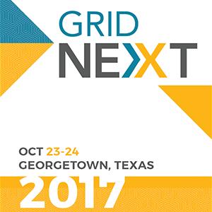 Oct 23-24, 2017   GridNEXT 2017 Georgetown Tx