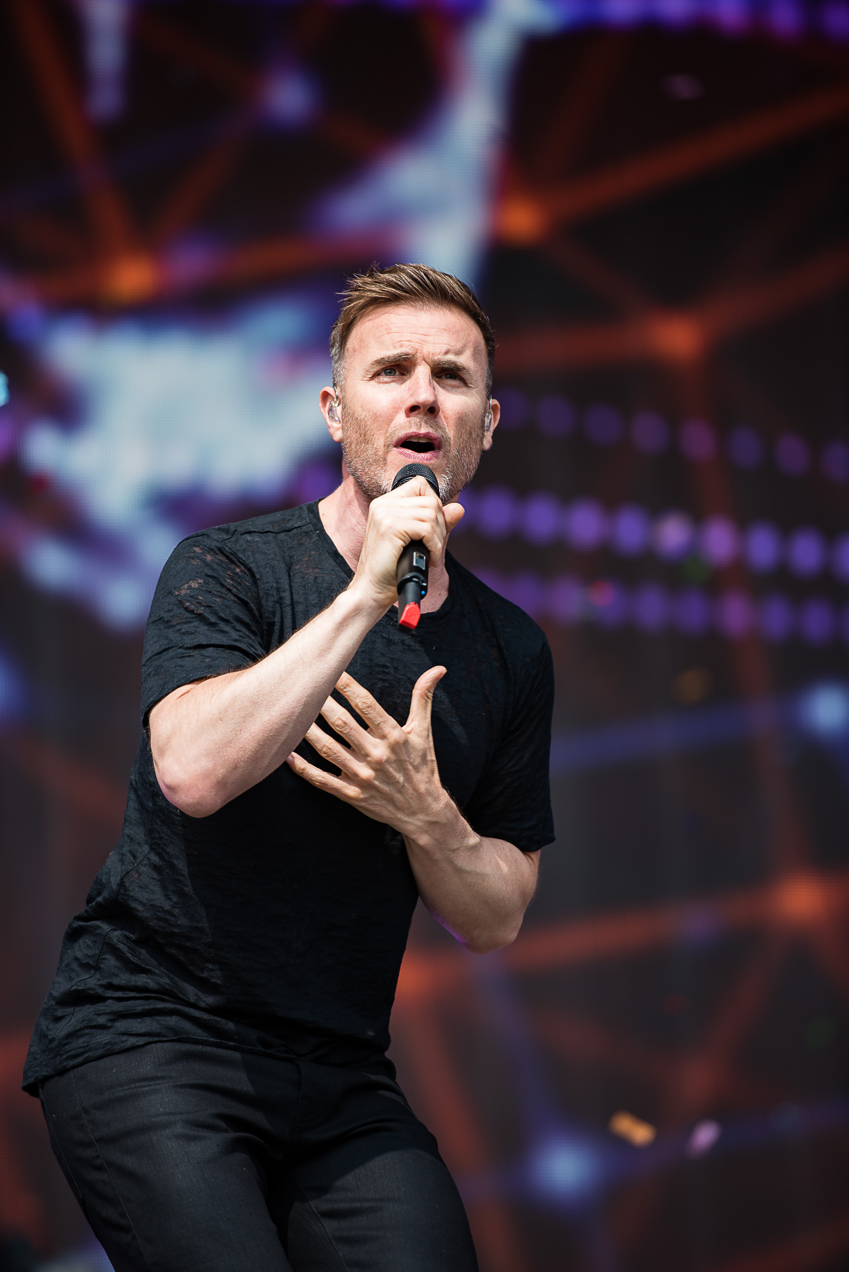 Gary Barlow at Radio One Big Weekend.