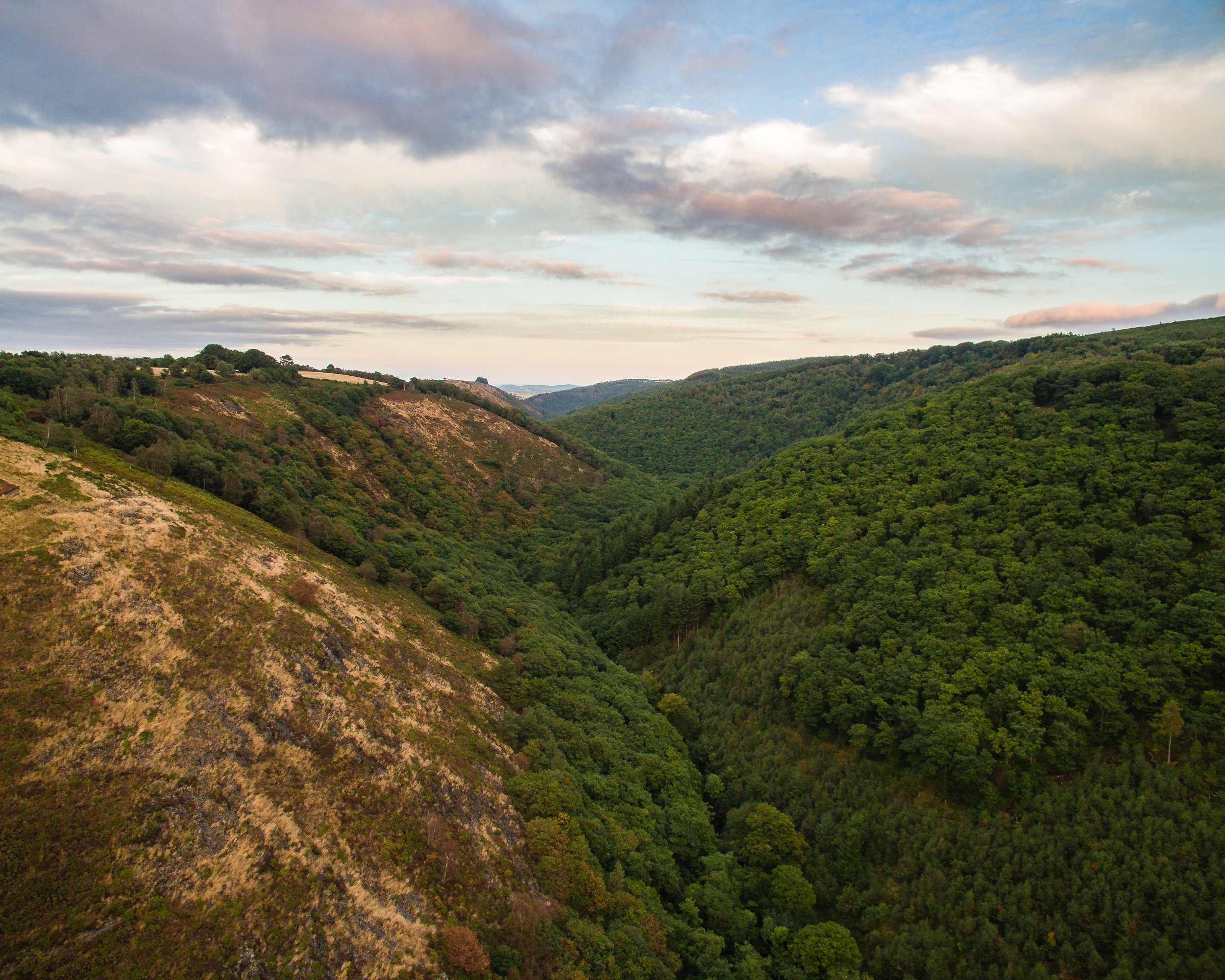 Teign Valley frome Drone