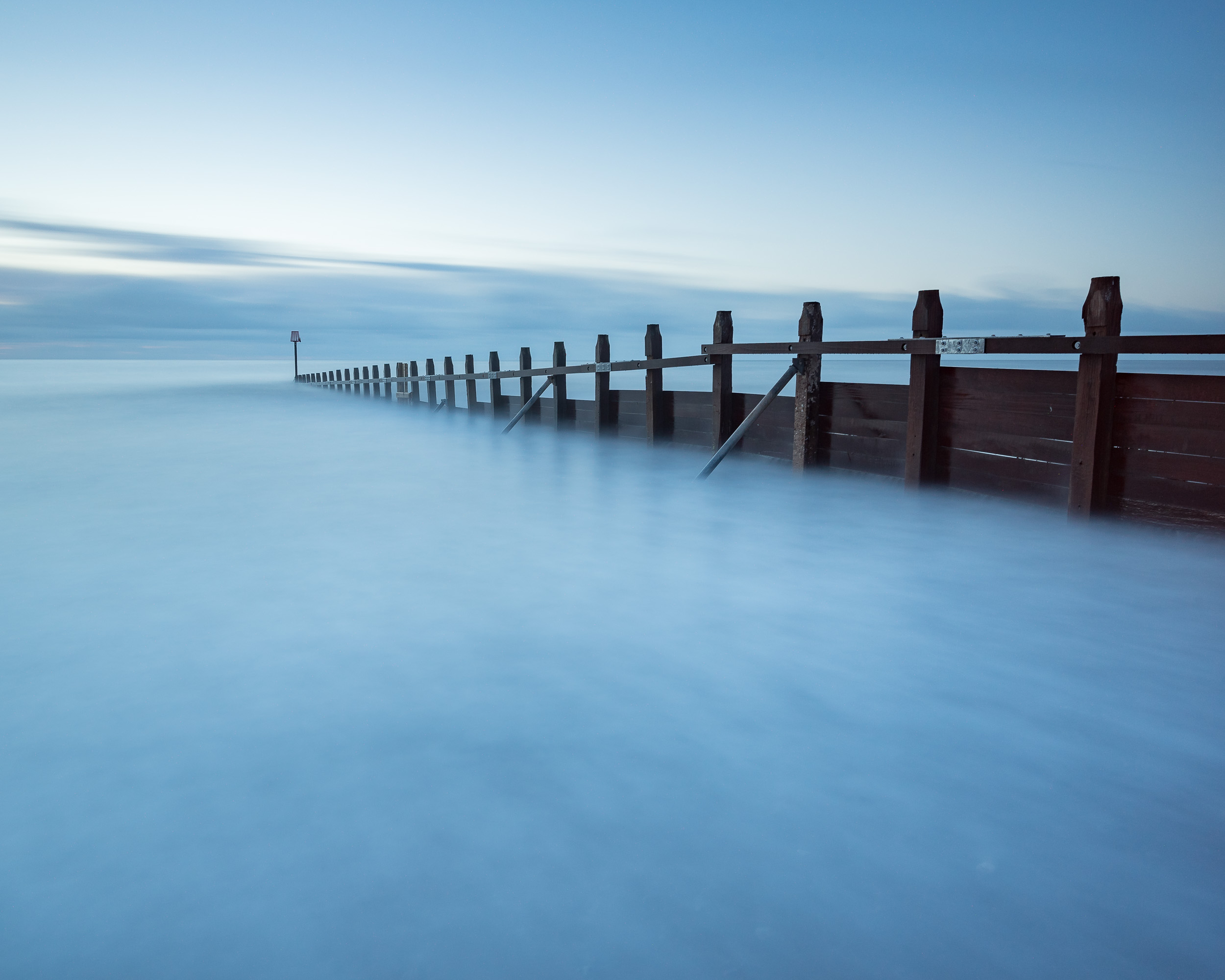 The groynes along the beach at Dawlish Warren offer some great lines for your composition. Long exposures often work well at this location as well, especially in poor light.