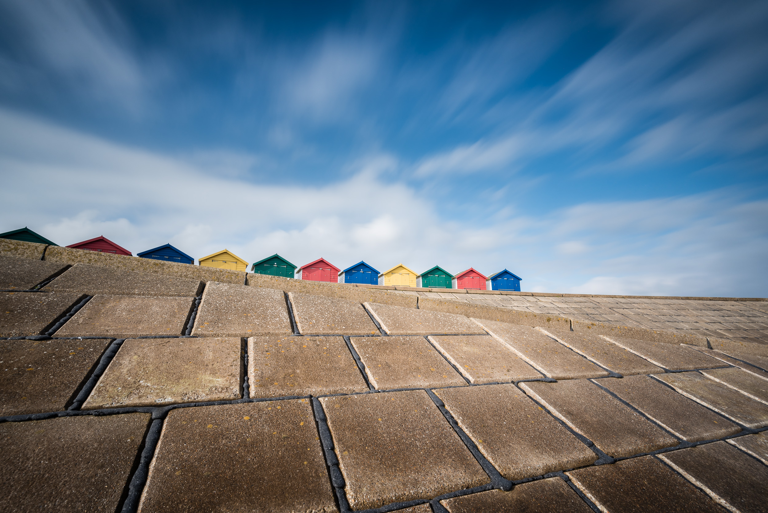 Don't forget to shoot the beach huts.