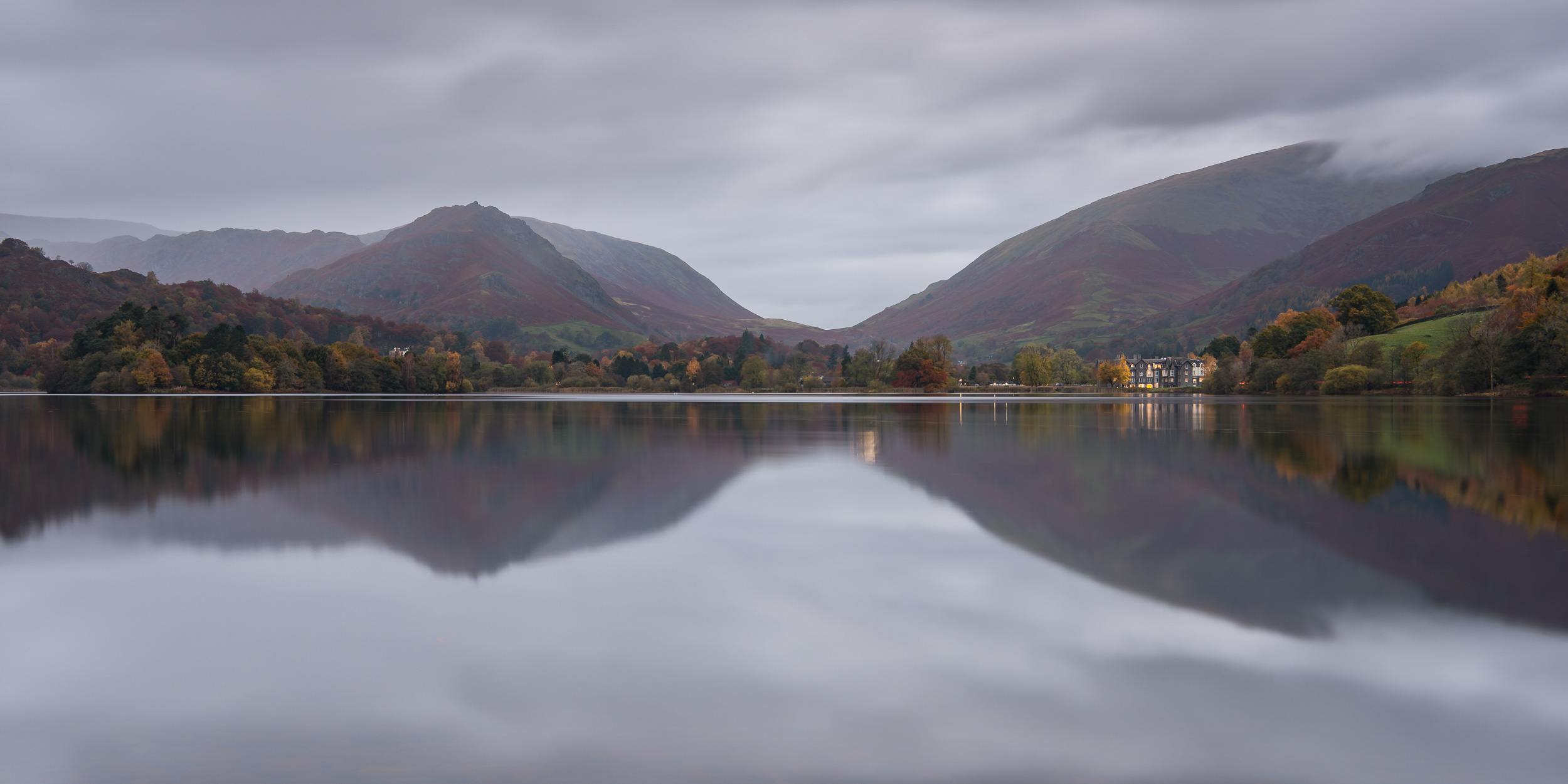 Lovely reflections, just a shame about the light. This image is a 2:1 crop from the original frame.
