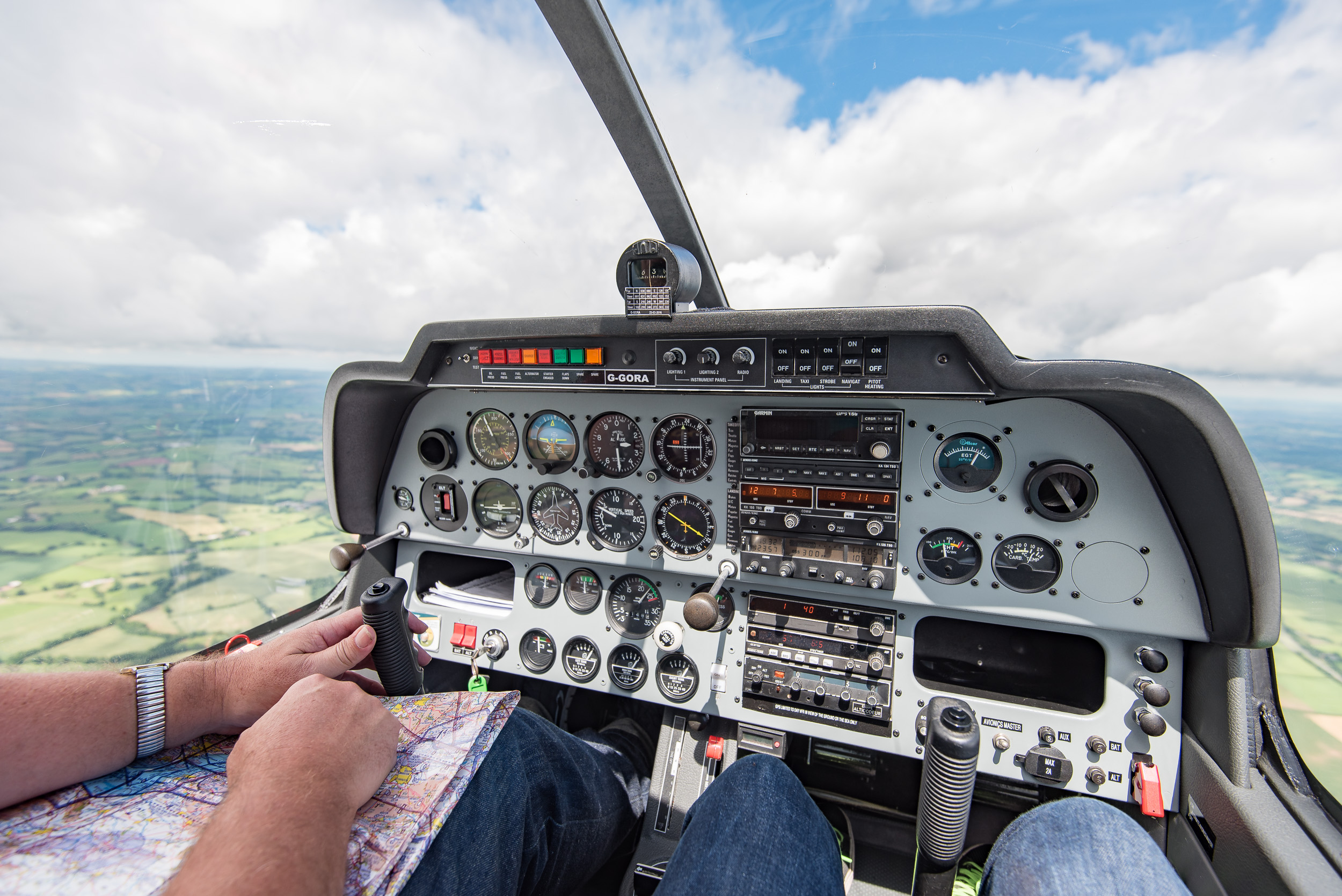 There is a lot manage as Pilot in Command, so it's best to leave the image taking to when you're a passenger.