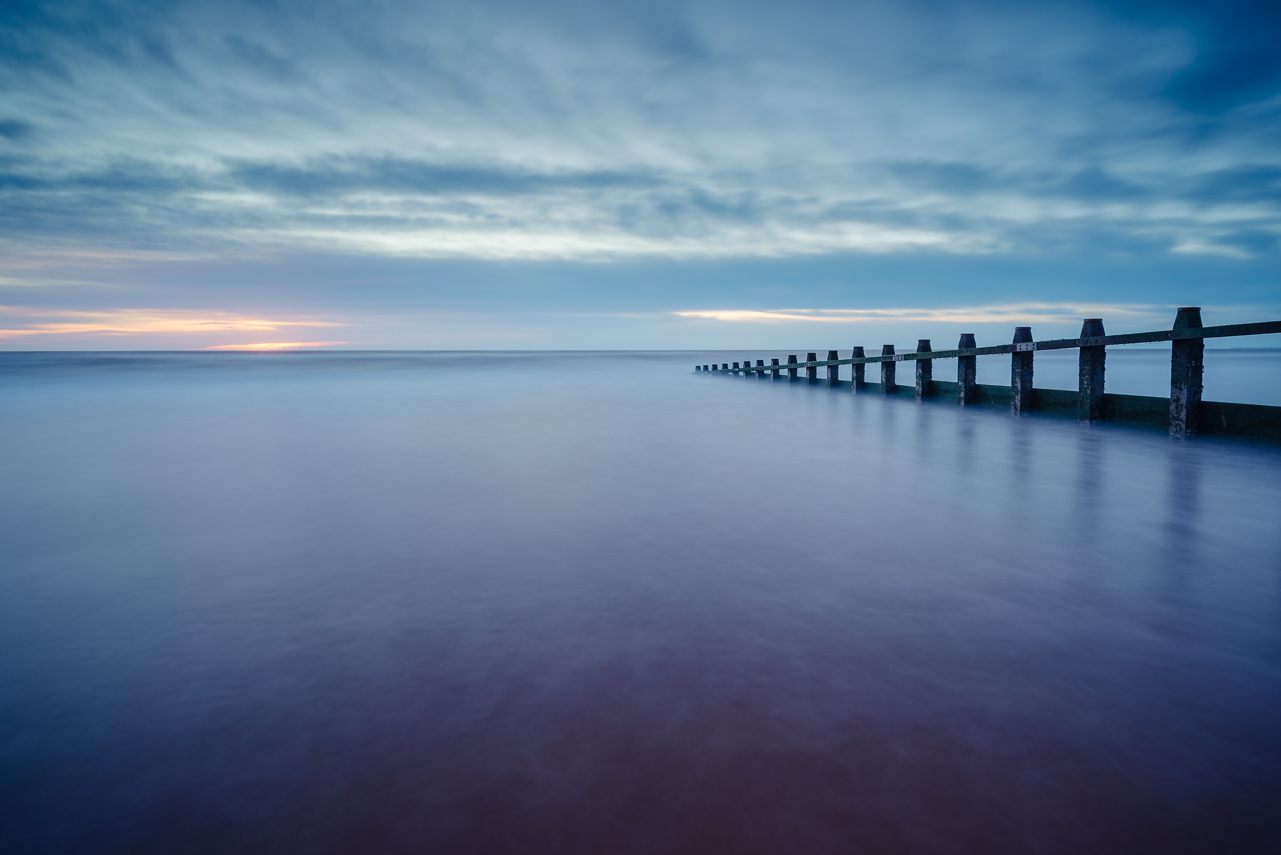 When I visited Dawlish Warren last week it was probably at the lowest tide I had seen so I had access to shoot some of the groynes I've never been able to access before.