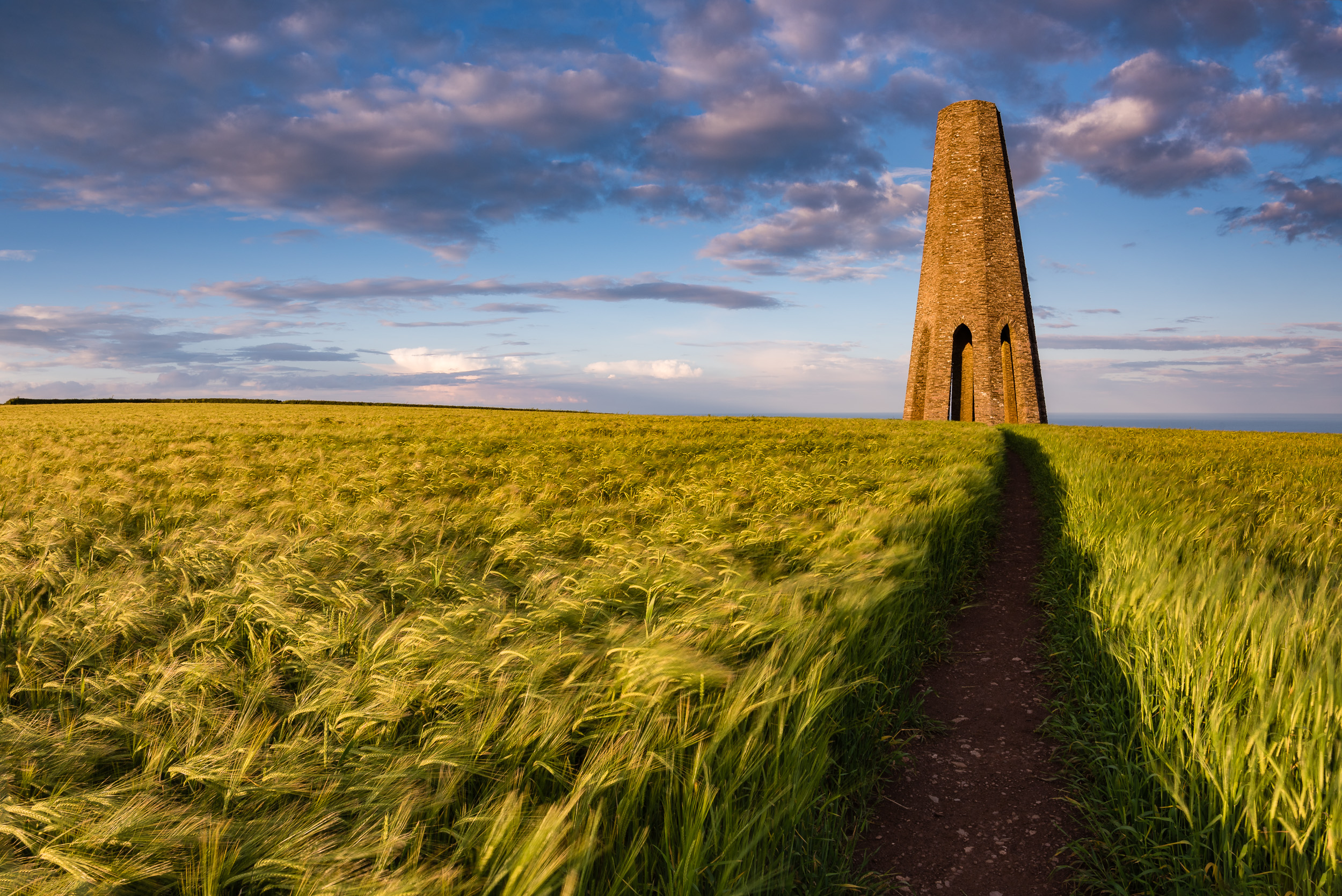 Daymark Tower - Nikon D750, Nikkor 16-35 f/4 at 16 mm, f/13, 1/15 second, ISO 100.