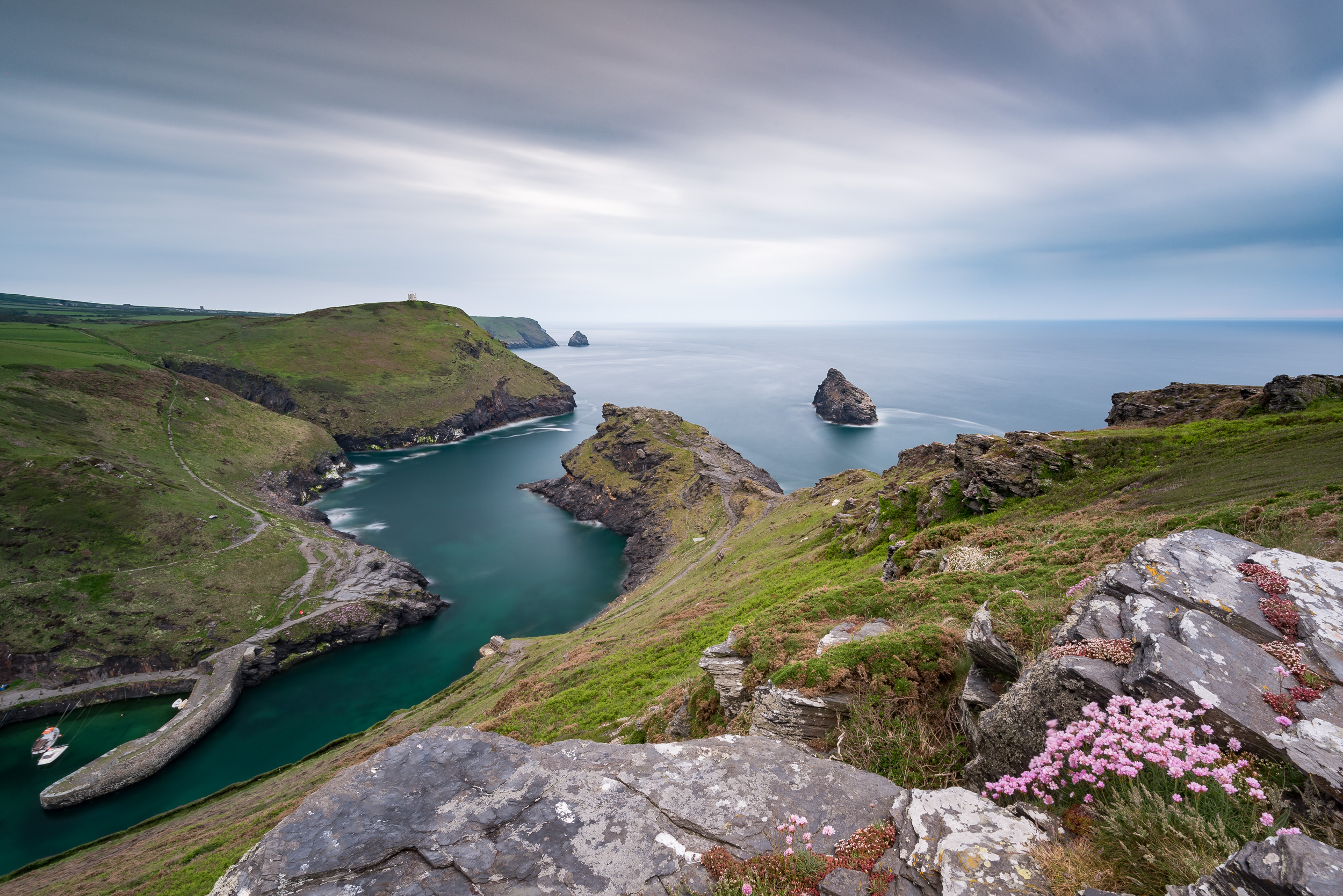 An image of Boscastle that I took in May 2016.