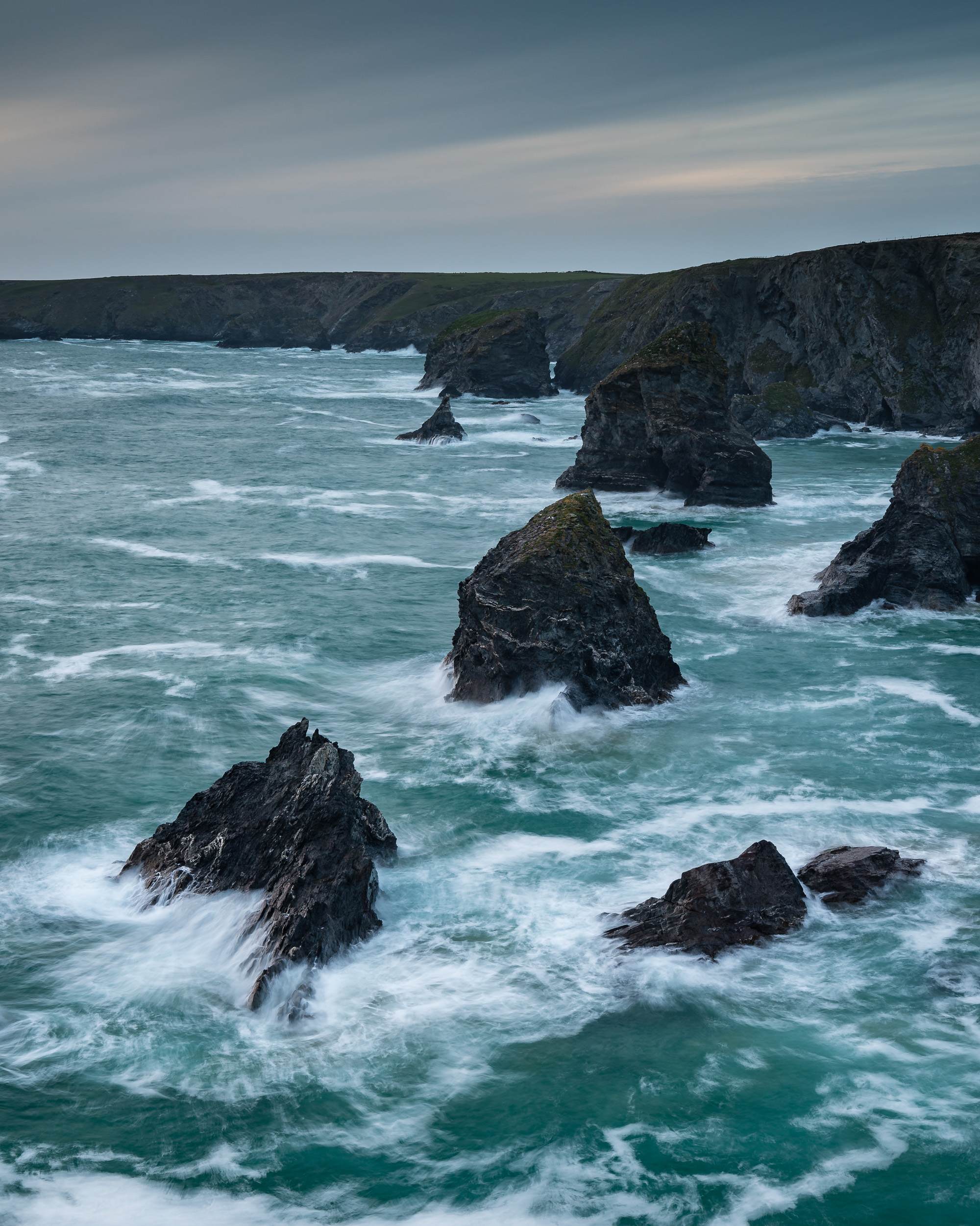 Bedruthan Steps Sea Stacks
