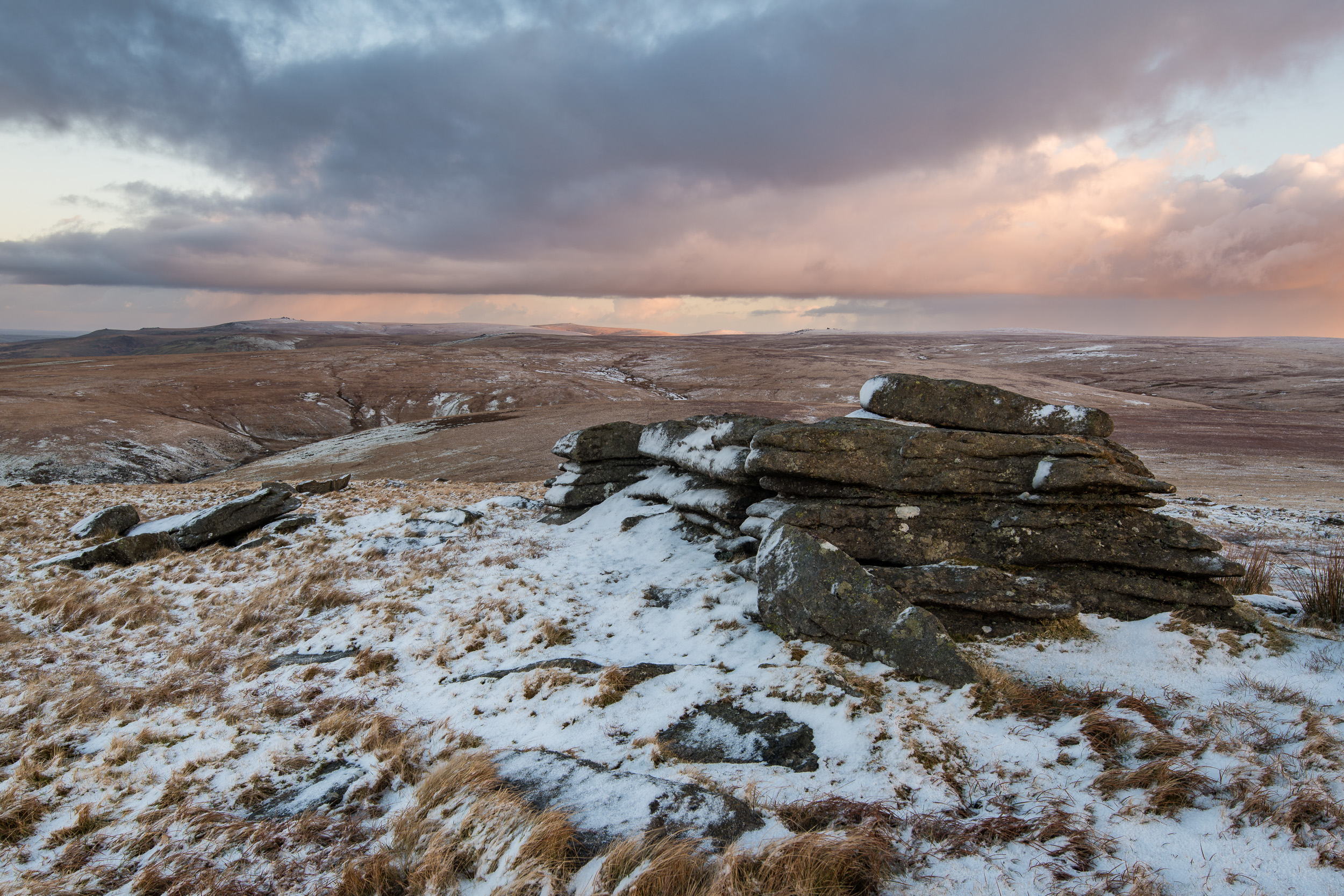 A View of Dartmoor from Great Mis Tor