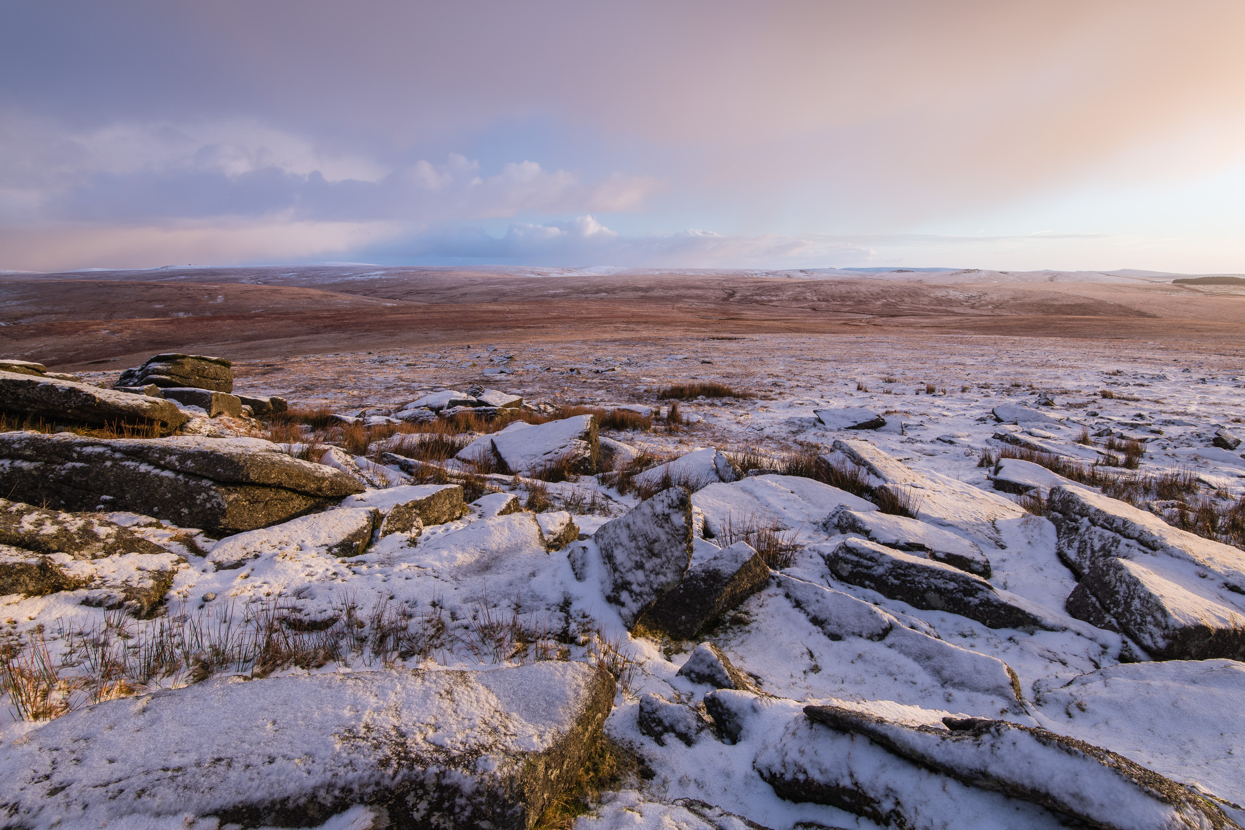 Looking North from Great Mis Tor