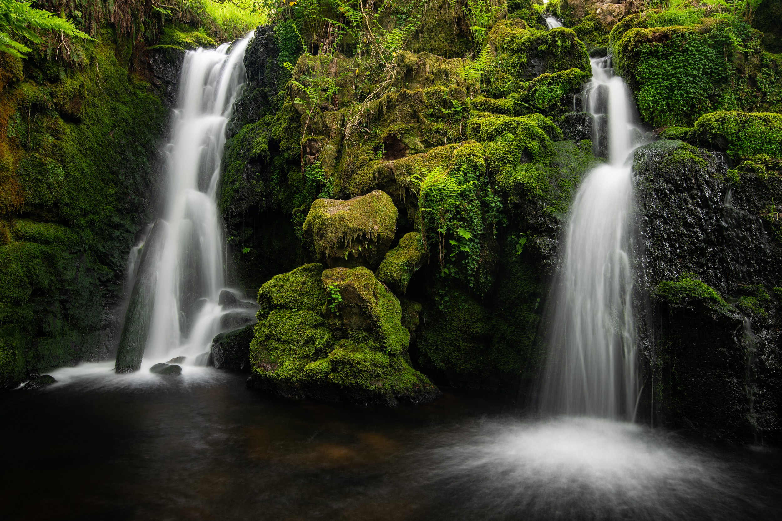 It's not been all bad. Spring at Venford Falls (Dartmoor, Devon)is always worth a visit.
