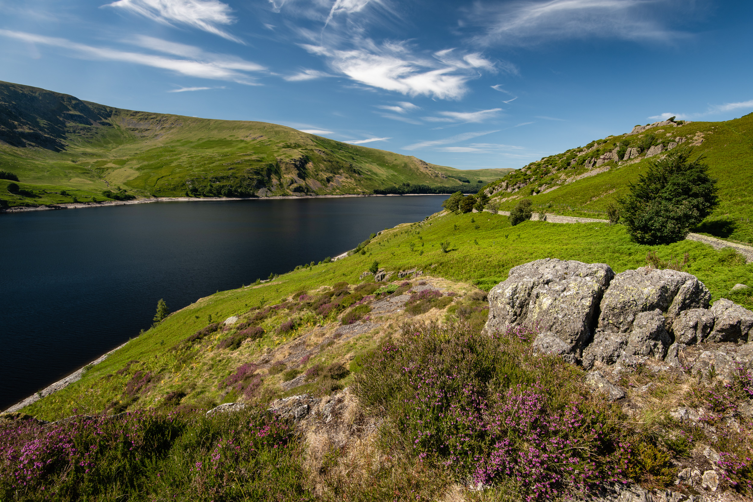 Haweswater Reservoir  - Lake District, England:  Nikon D850, Nikkor 16-35 mm f/4 at 17 mm, 1/20th sec at ISO 64, f/13, Lee Filters Circular Polariser.