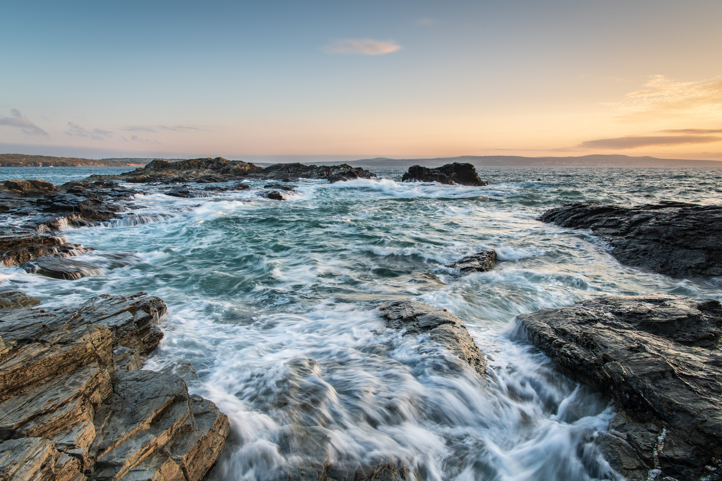 Godrevy Point Waves (Godrevy Cove), Cornwall