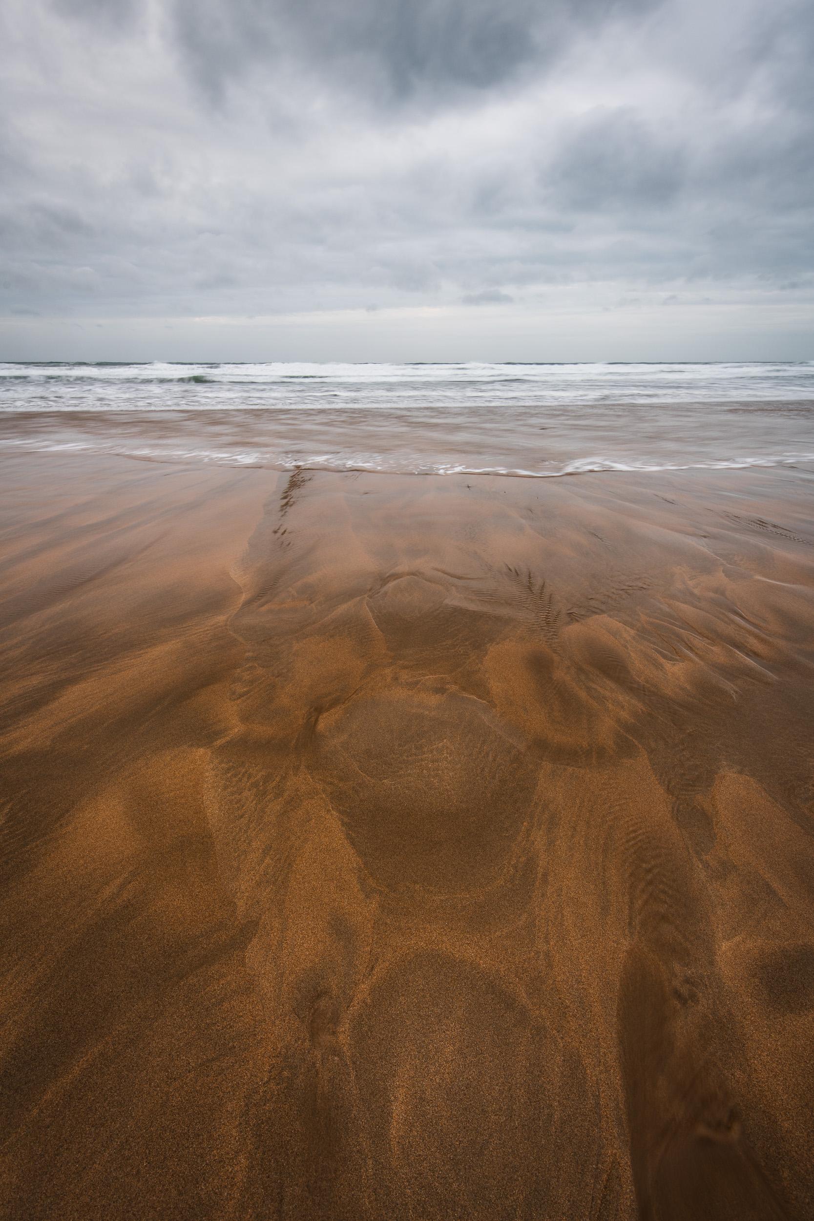 Sandy Textures - Sandymouth Beach, Cornwall