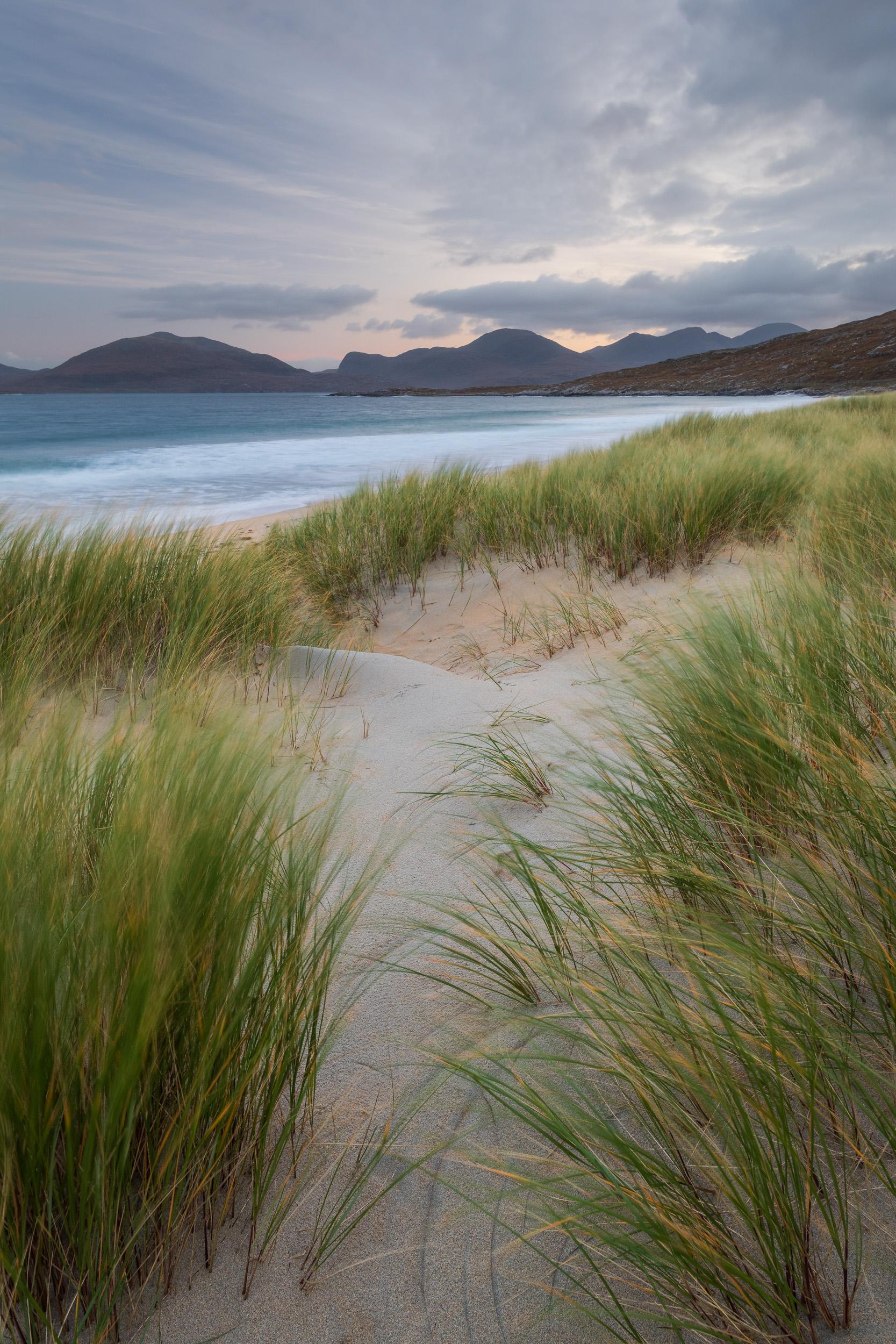 North Harris from Luskentyre Beach, Isle of Harris, Scotland