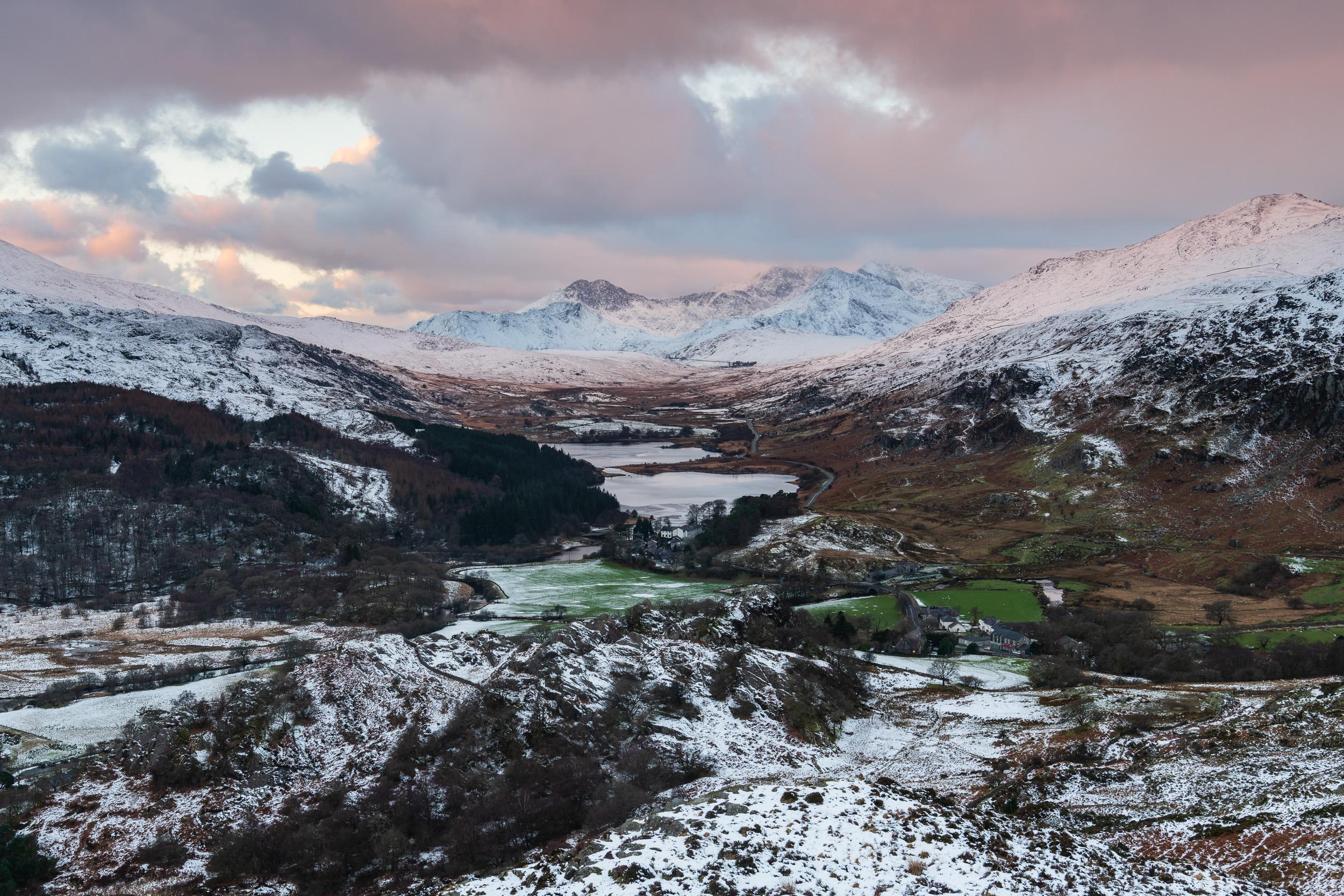 Snowdon from Clogwyn Mawr, Capel Curig, Snowdonia National Park  - Nikon D850, Nikkor 24-70 mm f/2.8 VR at 36 mm, f/11, 1/2 sec at ISO 64, polariser and ND grad.
