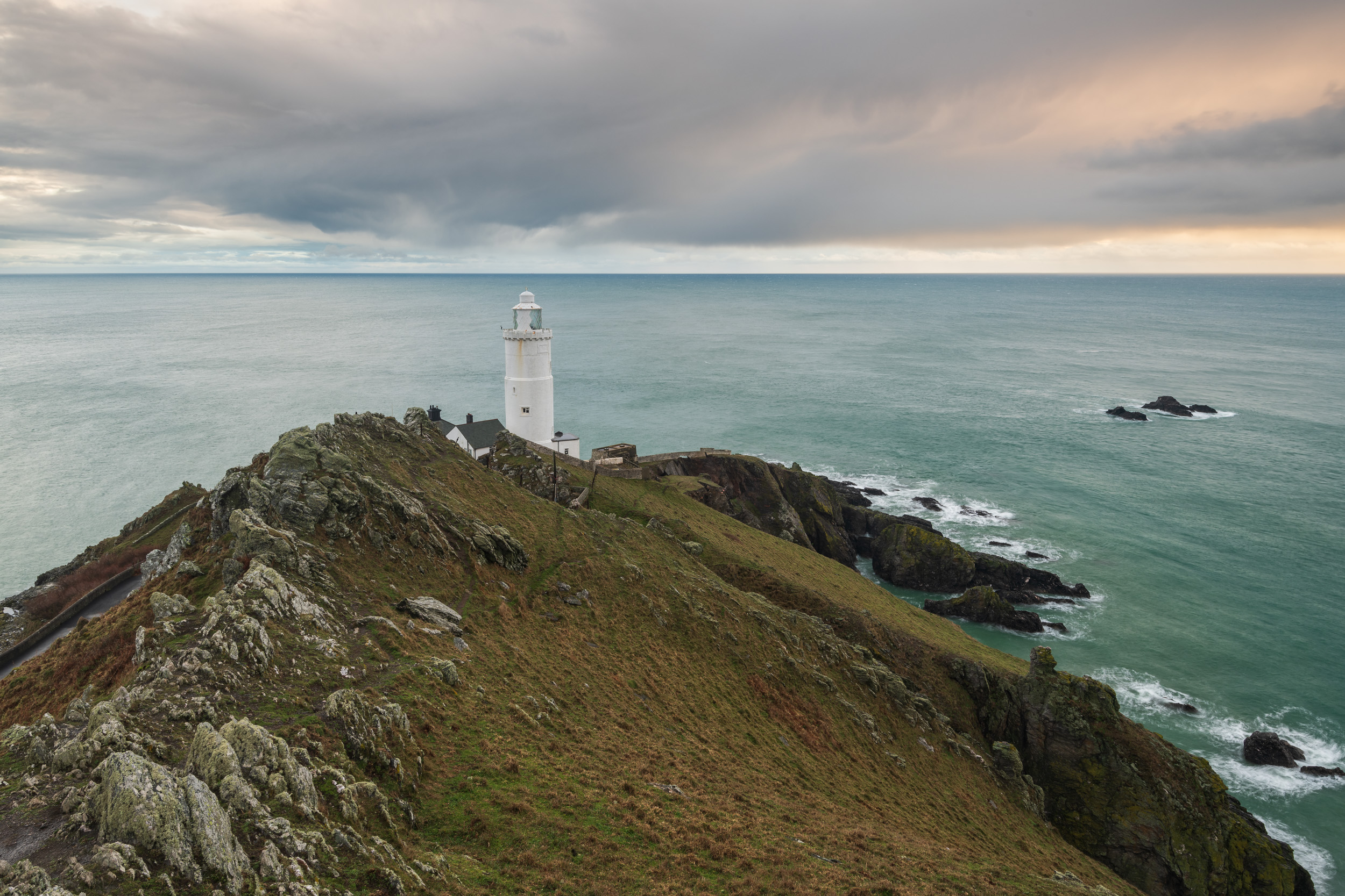 A Stormy Dawn at Start Point Lighthouse, Devon  - Nikon D850, Nikkor 16-35 mm f/4 at 22 mm, f/13, 1.3 seconds at ISO 64, polariser, ND grad.