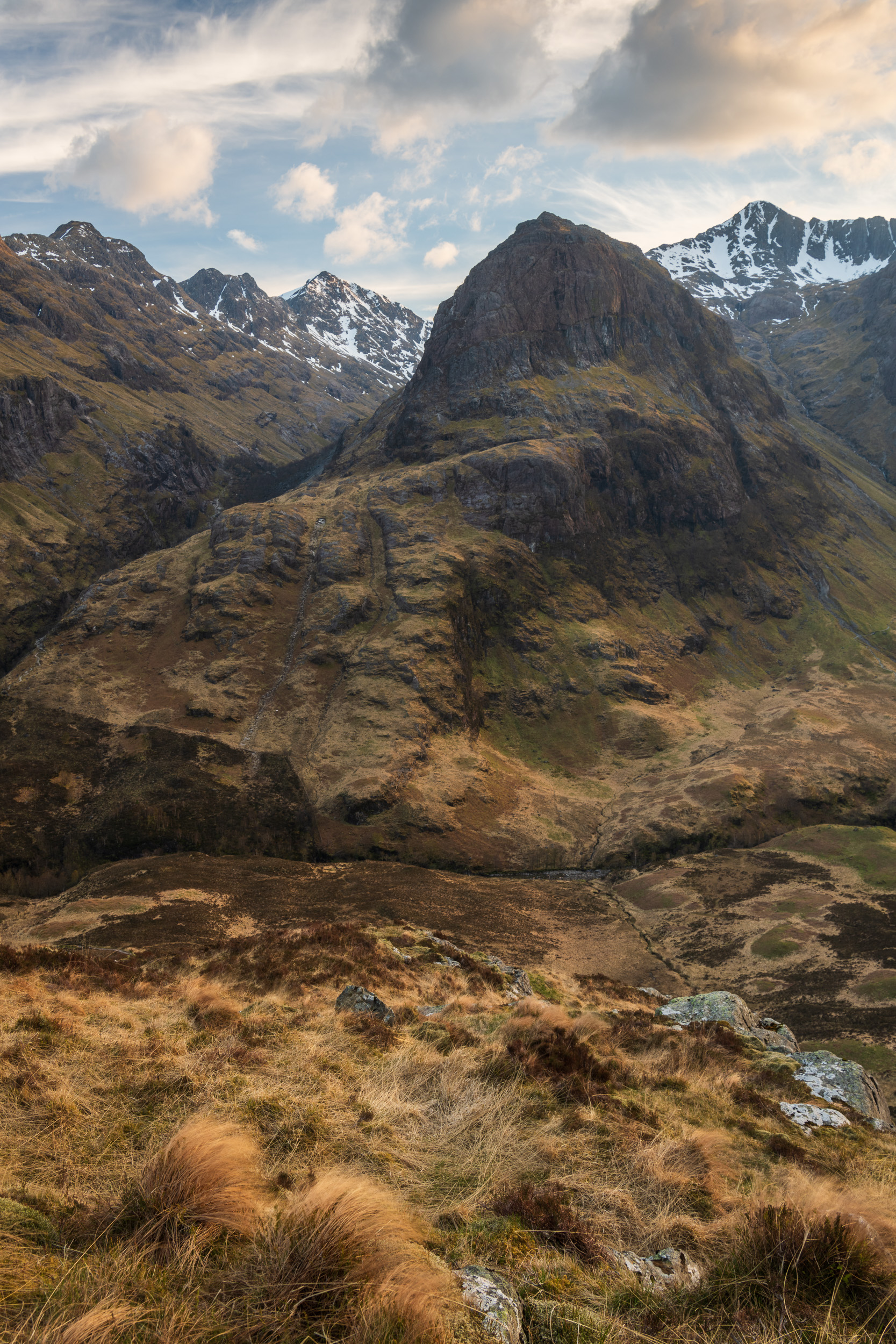 Gearr Aonach, Glencoe, Scotland  - Nikon D850, Nikkor 24-70 mm f/2.8 VR at 31 mm, f/13. 1/4th sec at ISO 64.