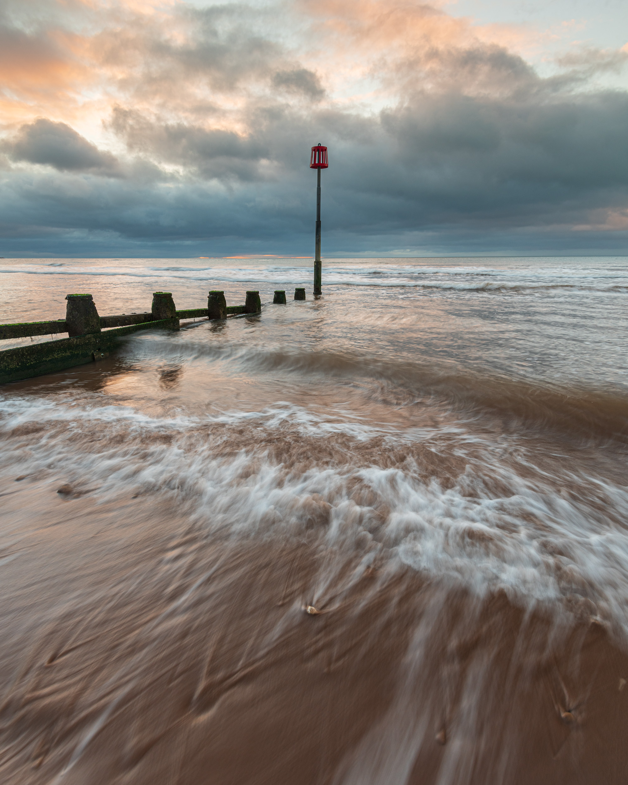 Dawlish Warren, Devon  - Nikon D850, Nikkor 16-35mm f/4 at 16mm, f/11, 0.4 seconds at ISO 64.